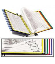 Tarifold, Inc. 10-Pocket Foldfive Desk Unit, Assorted Borders