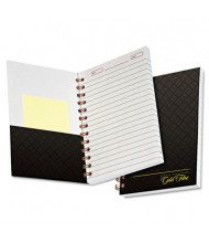 "Ampad 5"" x 7"" 100-Sheet College Rule Gold Fibre Personal Notebook, Gray Cover"