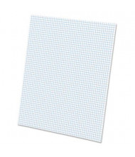 "Ampad 8-1/2"" X 11"", 50-Sheet, 5 Sq. Quadrille Rule Pad"