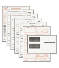 "TOPS 8-1/2"" x 11"" Carbonless 1099 Misc. Tax Form Kit, 24-Forms & Envelopes"