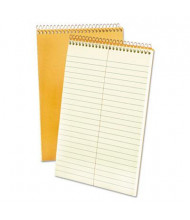 "Ampad 6"" x 9"" 60-Sheet, Gregg Rule Steno Notepad, Green Tint Paper"