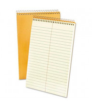 "Ampad 6"" x 9"" 80-Sheet, Gregg Rule Steno Notepad, Green Tint Paper"