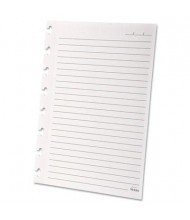 "Ampad Versa 5-1/2"" x 8-1/2"" 40-Sheet Notebook Wide Ruled Refill Paper, White Paper"