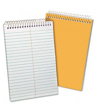 """Ampad 6"""" x 9"""", 80-Sheet, Gregg Rule Recycled Steno Notepad, White Paper"""