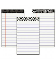 "TOPS 5"" X 8"" 50-Sheet 6-Pack Narrow Rule Fashion Notepads"