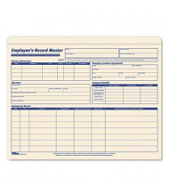 """TOPS 9-1/2"""" x 11-3/4"""" Employee Record Master File Jackets, Manila, 20-Pack"""
