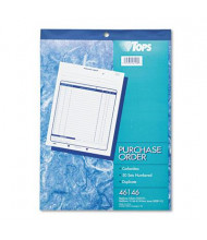 "TOPS 8-3/8"" x 10-3/16"" 50-Page 2-Part Purchase Order Book"
