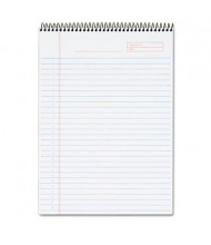 """TOPS 8-1/2"""" X 11-3/4"""" 70-Sheet Legal Rule Project Planner, Black Cover"""
