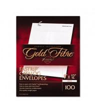 "Ampad Gold Fibre 9"" x 12"" Side Seam #90 Fastrip Catalog Envelope, White, 100/Box"