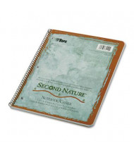 """TOPS Second Nature 8-1/2"""" X 11"""" 50-Sheet College Rule Wirebound Notebook"""