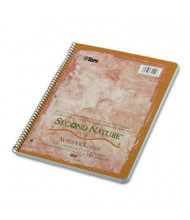 "TOPS Second Nature 8-1/2"" X 11"" 80-Sheet Quadrille Rule Wirebound Notebook"