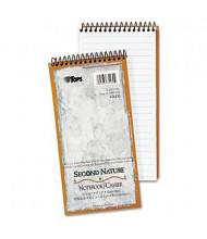 "TOPS Second Nature 4"" X 8"" 70-Sheet Gregg Rule Recycled Notepad"