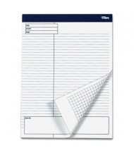 "TOPS 8-1/2"" X 11-3/4"" 40-Sheet 4-Pack Legal Rule Planning Notepads"