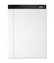 "TOPS 8-1/2"" X 11-3/4"" 100-Sheet 4-Pack Narrow Rule Notepads, White Paper"