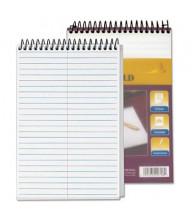 """TOPS 6"""" X 9"""" 100-Sheet Gregg Rule Steno Notepad, White Paper"""