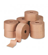 "United Facility Supply Reinforced 3"" x 150 yds Gummed Kraft Sealing Tape, Brown, 10/Carton"
