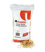 """Universal 1-3/4"""" x 1/16"""" Size #12 Rubber Bands, 1 lb. Pack"""