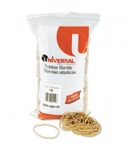 """Universal 3-1/2"""" x 1/16"""" Size #19 Rubber Bands, 1 lb. Pack"""