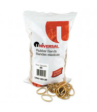 """Universal 2"""" x 1/8"""" Size #30 Rubber Bands, 1 lb. Pack"""