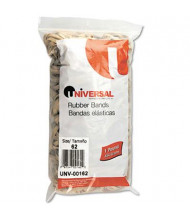 """Universal 2-1/2"""" x 1/4"""" Size #62 Rubber Bands, 1 lb. Pack"""