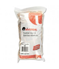 """Universal 3-1/2"""" x 1/4"""" Size #64 Rubber Bands, 1 lb. Pack"""