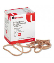 """Universal 7"""" x 1/8"""" Size #117 Rubber Bands, 1/4 lb. Pack"""