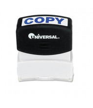 "Universal ""Copy"" Pre-Inked Message Stamp, Blue Ink"