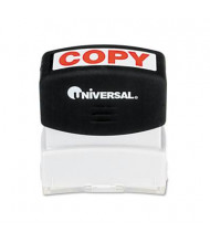 "Universal ""Copy"" Pre-Inked Message Stamp, Red Ink"