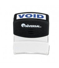 "Universal ""Void"" Pre-Inked Message Stamp, Blue Ink"