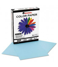 "Universal One 8-1/2"" x 11"", 20lb, 500-Sheets, Blue Colored Office Paper"