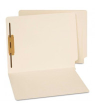 Universal Reinforced End Tab 1-Fastener Letter File Folder, Manila, 50/Box