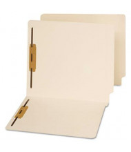 Universal Reinforced End Tab 2-Fastener Letter File Folder, Manila, 50/Box