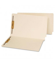 Universal Reinforced End Tab 2-Fastener Legal File Folder, Manila, 50/Box