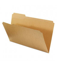 Universal Reinforced 1/3 Cut Tab Legal File Folder, Kraft, 100/Box