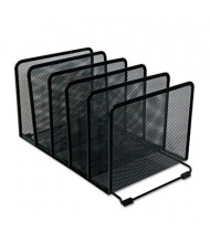 Universal One 5-Section Mesh Stacking Sorter, Black