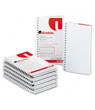 "Universal 3"" X 5"" 50-Sheet 12-Pack Narrow Rule Memo Notebooks"