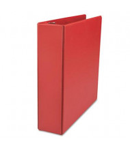 """Universal One 2"""" Capacity 8-1/2"""" x 11"""" Straight Ring Non-View Binder, Red"""