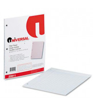 "Universal 8-1/2"" x 11"", 100-Sheets, College Rule Filler Paper"