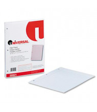 "Universal 8-1/2"" x 11"", 200-Sheets, College Rule Filler Paper"