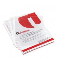 "Universal 8-1/2"" x 11"" Top-Load Non-Glare Poly Sheet Protectors, 200/Box"