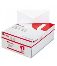 "Universal 4-1/8"" x 9-1/2"" V-Flap #10 Business Envelope, White, 500/Box"