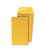 "Universal 3-1/8"" x 5-1/2"" #5-1/2 Kraft Coin Envelope, Light Brown, 500/Box"