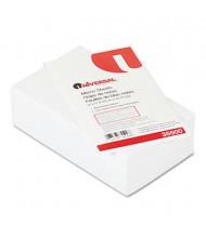 "Universal 3"" x 5"", 500-Sheets, Loose White Memo Paper"
