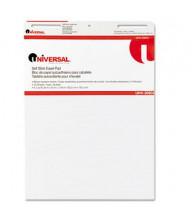 "Universal One Self-Stick 25"" x 30"", 30-Sheet, 2-Pack, Unruled Easel Pads"