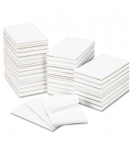 "Universal 5"" X 8"", 64 100-Sheet Scratch Pads"