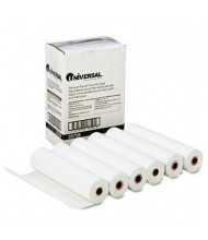 "Universal 8-1/2"" X 98 Ft., 6-Pack, Fax Paper Rolls"