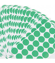 """Universal 3/4"""" Round Color-Coding Labels, Green, 1008/Pack"""