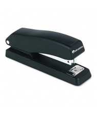 Universal 43119 Economy Half Strip 12-Sheet Capacity Black Stapler