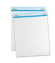 "Universal One Sugarcane Based 27"" x 34"", 50-Sheet, 2-Pack, Ruled Easel Pads"