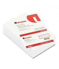 "Universal 4"" x 6"", 500-Sheets, Loose White Memo Paper"